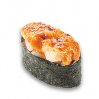 Запеченые острые суши с сыром